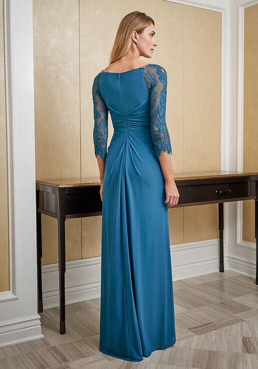 Jade Mother of the Bride by Jasmine J225010 Black Mother Of The Bride Dress