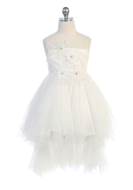 Kid's Dream C203 Ivory Flower Girl Dress
