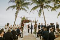 MichelleHanko dreamed of getting married on the beach since she was a little girl, and her wish came true at her tropical destination wedding to Jeff