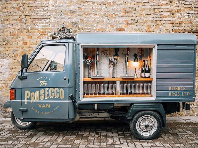 Image result for prosecco van