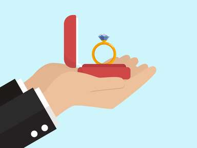 engagement ring illustration