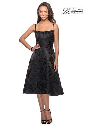 La Femme Evening 27748 Black Mother Of The Bride Dress