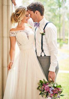 Stella York 6862 A-Line Wedding Dress
