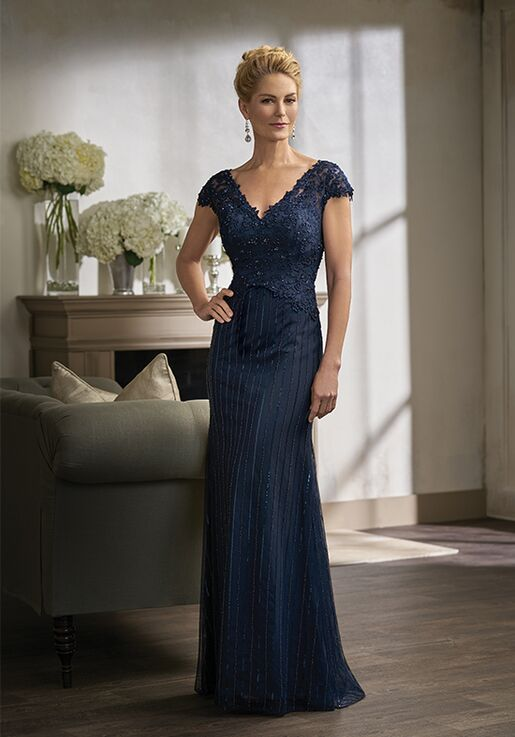 Jade Couture K198012 Blue Mother Of The Bride Dress