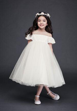 David's Bridal Flower Girl David's Bridal Style WG1405 Ivory Flower Girl Dress
