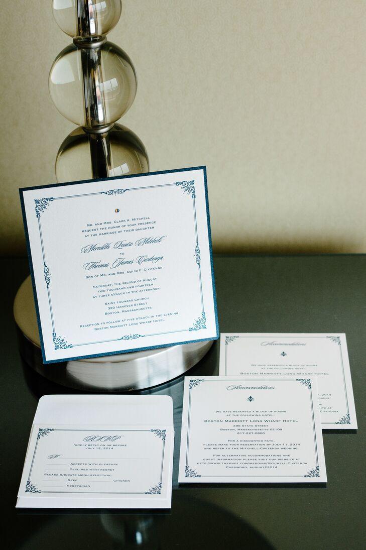 Elegant Formal Wedding Invitations