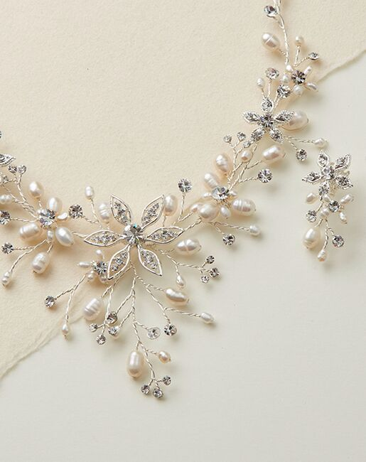 USABride Romance Freshwater Pearl Jewelry Set (JS-1625) Wedding Necklaces photo