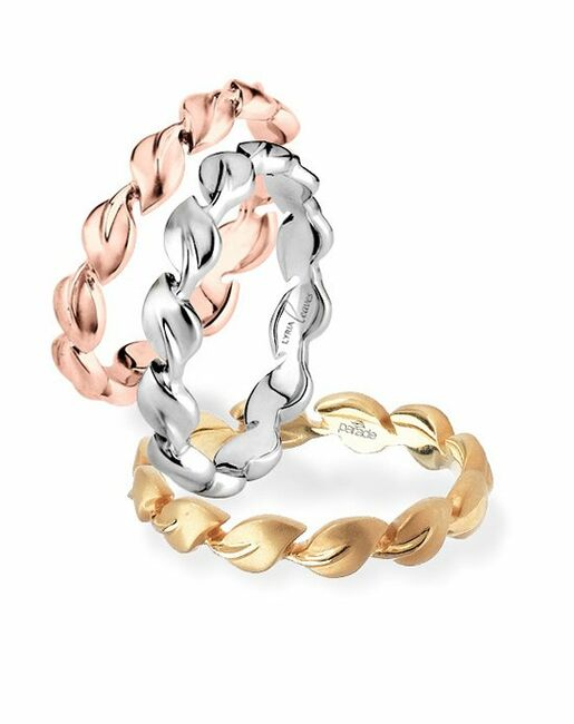 Parade Designs BD1976 from the Lyria Collection Wedding Rings photo