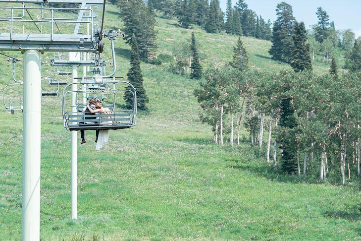 Postceremony Ski Lift Exit