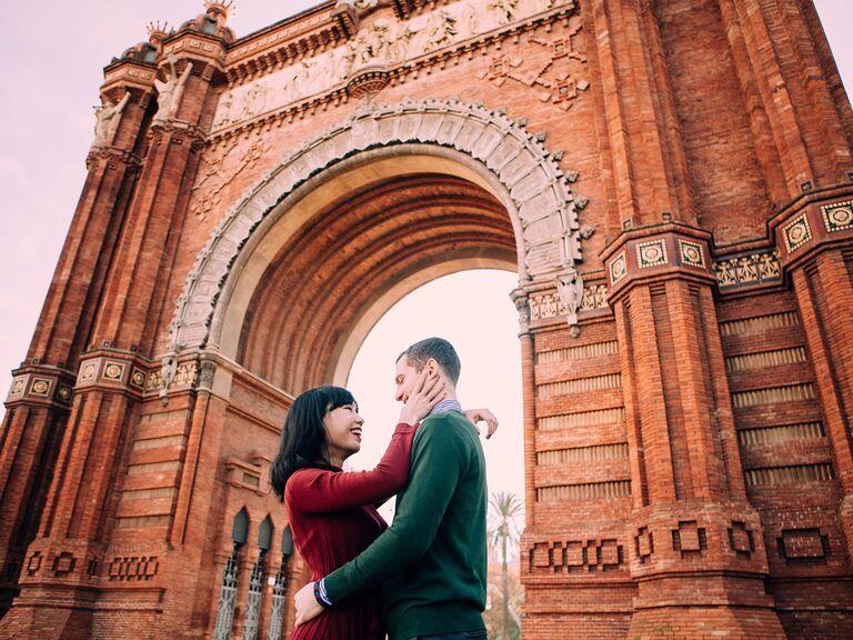 Romantic anniversary photo idea