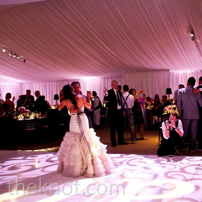 Reception First Dance