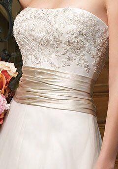 Casablanca Bridal 1971 A-Line Wedding Dress