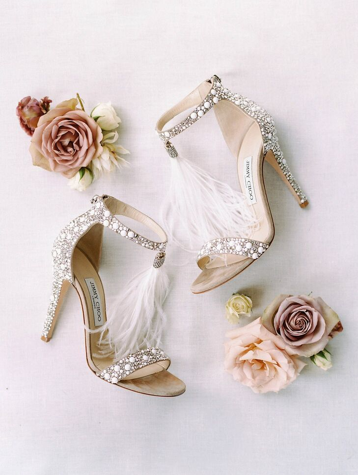 Heels for Wedding at Lauxmont Farms in Wrightsville, Pennsylvania