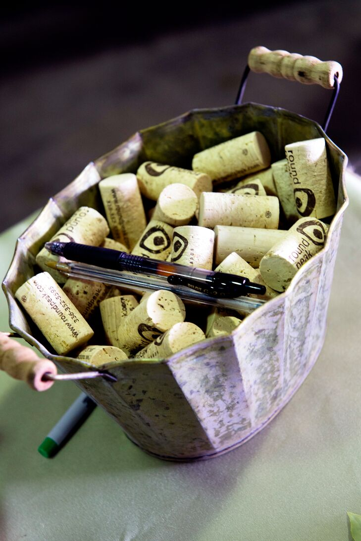 Wine Cork Guest Book Alternative