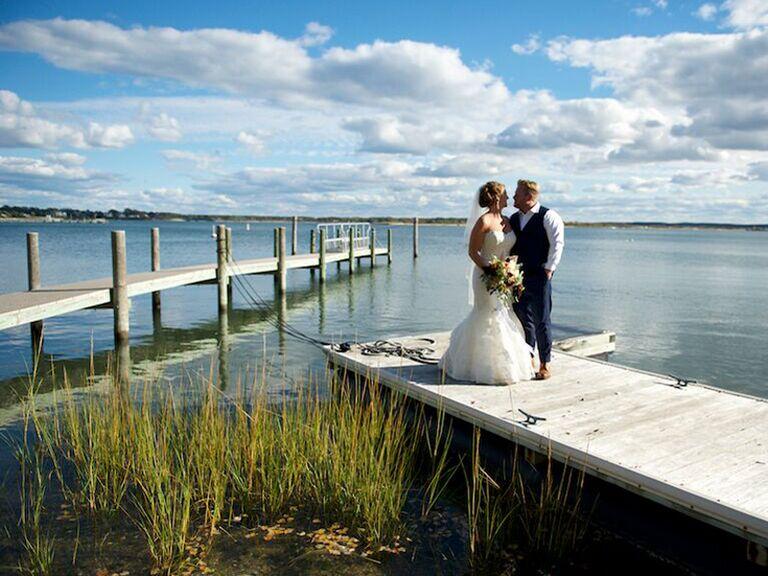 Hamptons wedding venue in Shelter Island, New York.