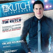 Pittsburgh, PA Magician | Tim Kutch - Corporate Magician | Illusionist