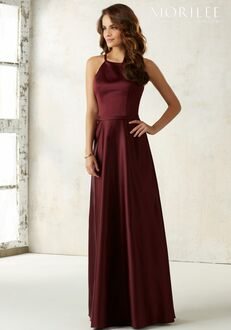 Morilee by Madeline Gardner Bridesmaids 21517 Halter Bridesmaid Dress