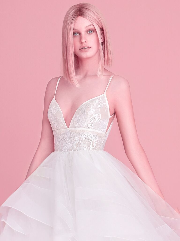 Hayley Paige Fall 2018 Collection: Bridal Fashion Week Photos