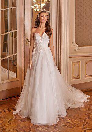 Moonlight Collection J6827 A-Line Wedding Dress