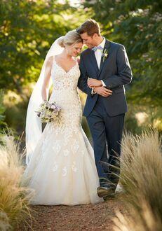 Essense of Australia D2281 Mermaid Wedding Dress