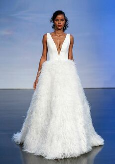 Justin Alexander Signature St. Moritz Ball Gown Wedding Dress