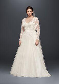 David's Bridal David's Bridal Collection Style 9WG3831 A-Line Wedding Dress