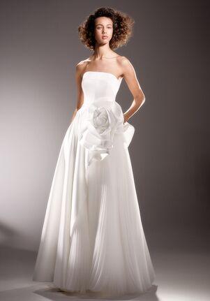 Viktor&Rolf Mariage DRAPED ROSE DIAGONAL CUT GOWN A-Line Wedding Dress