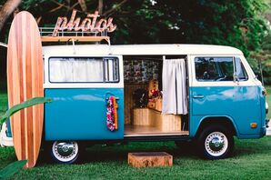 A Volkswagen Bus Photo Booth