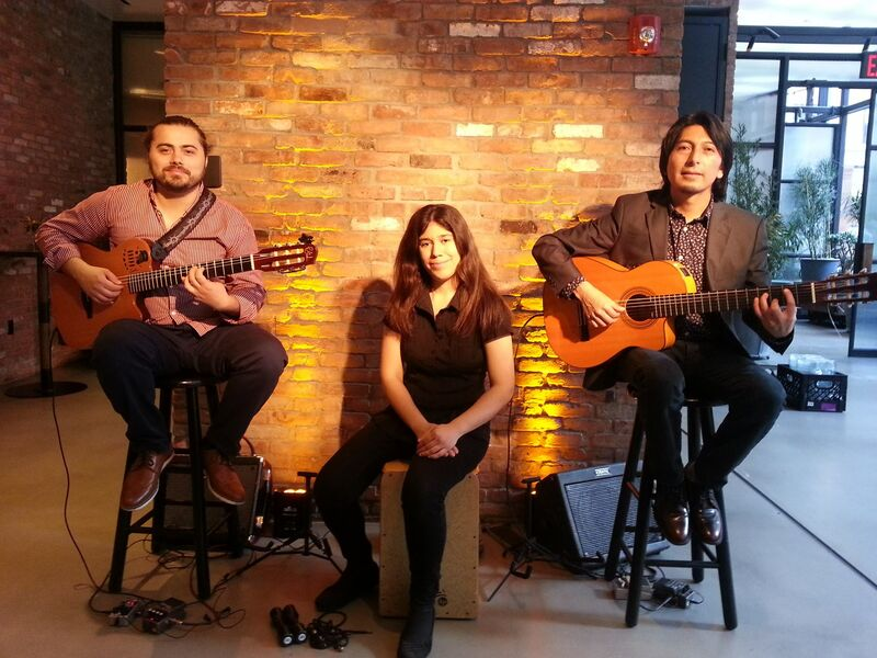 Inti and the Moon Trio / Spanish guitar - Latin Band - Astoria, NY