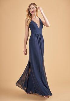 Belsoie Bridesmaids by Jasmine L204059 V-Neck Bridesmaid Dress
