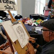 Stone Mountain, GA Caricaturist | Caricatures by FitzRoy