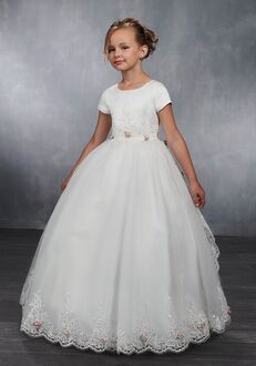 Mary's Angel by Mary's Bridal MB9035 Ivory Flower Girl Dress