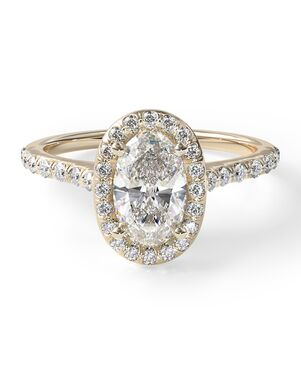 James Allen Classic Oval Cut Engagement Ring