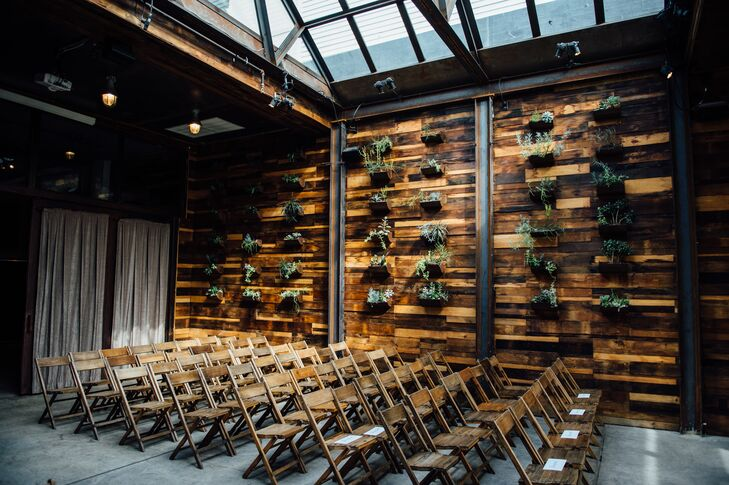 Rustic Wooden Folding Chairs