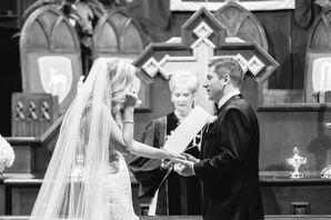 d50ae245303 First Methodist Church Traditional Wedding Ceremony