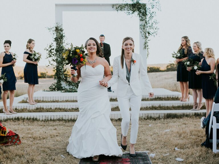 bridal pantsuit