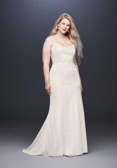 David's Bridal Galina Style 9WG3916 Sheath Wedding Dress