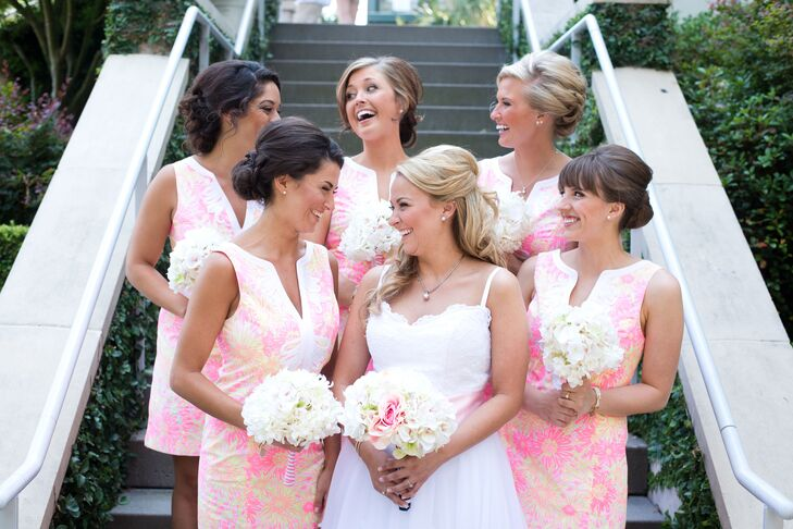 Preppy Lilly Pulitzer Bridesmaid Dresses