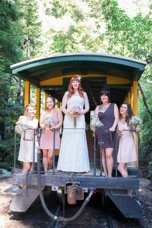 Bridesmaid's Own Dresses
