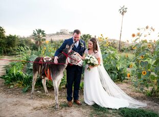For their mid-winter wedding, Joelle Maude and Henry Graham decided to skip Chicago's snow and head to the balmy coast of San José del Cabo, Mexico, f
