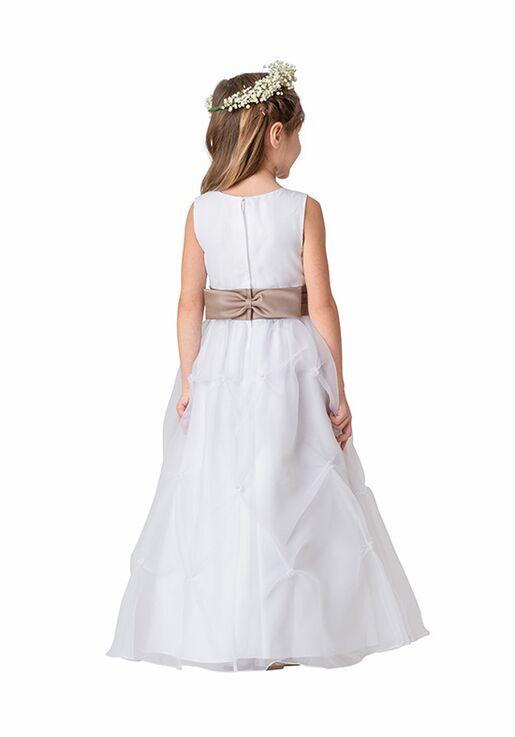 Bari Jay Flower Girls F5916 Champagne Flower Girl Dress