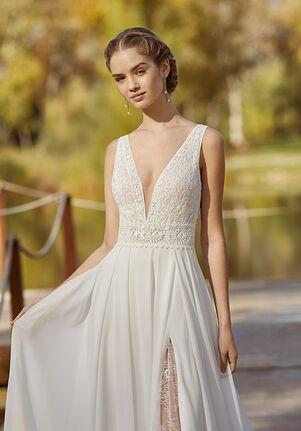 Aire Barcelona KATSUM Sheath Wedding Dress