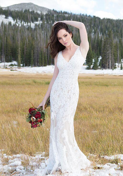 Allure Romance 3108 Sheath Wedding Dress