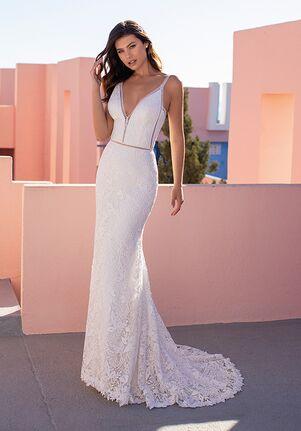 WHITE ONE ESSENTIALS CARDAMINE Mermaid Wedding Dress