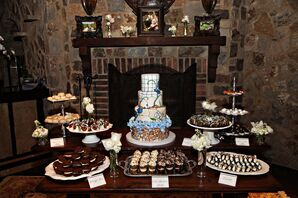 Cupcake, Cannoli and Cookie Dessert Table