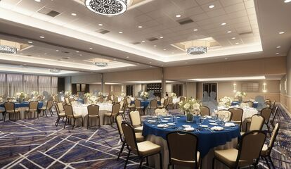 Keystone Ballroom At Doubletree By Hilton Valley Forge Reception