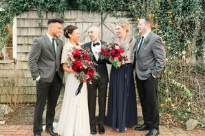 Wedding Party Portraits at Terrain at Styers in Glen Mills, Pennsylvania