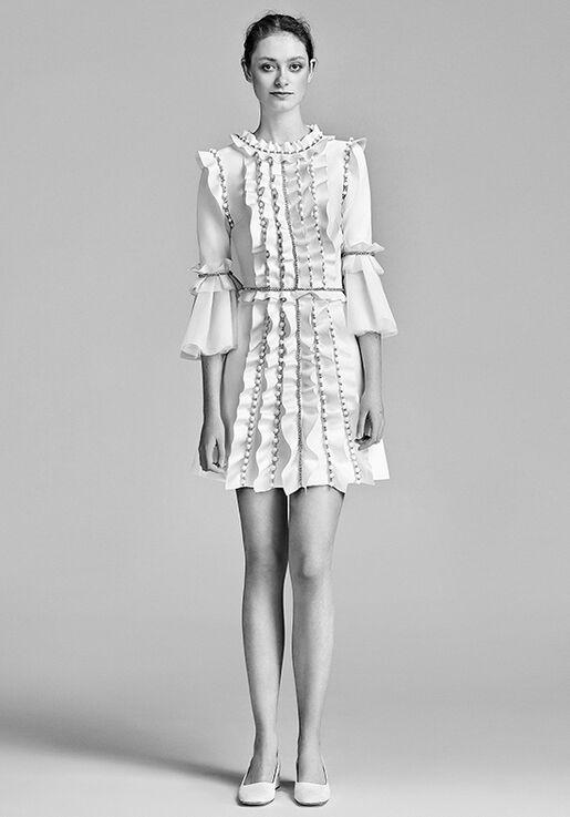 Viktor Rolf Mariage Sparkle Volant Mini Wedding Dress - The Knot 3884a8fbc4d