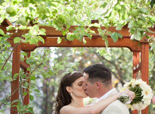 "Alison Kennedy (30 and a psychologist) and Shaun Kennedy (31 and a correctional officer) met online. Five years later, he proposed. ""We had just got h"
