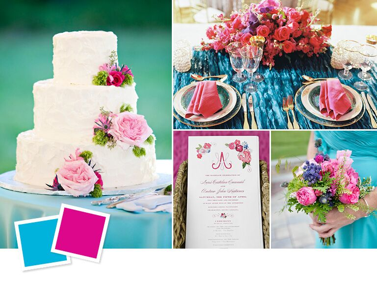 wedding color combos for summer